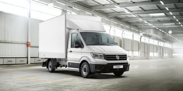 Das neue Volkswagen Crafter Fahrgestell