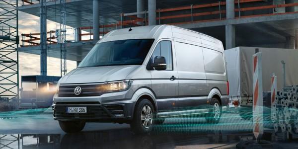 Der neuen Volkswagen Crafter Kastenwagen