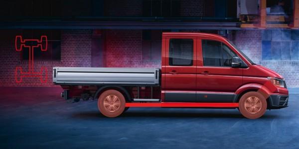 Der neue Volkswagen Crafter Pritschenwagen